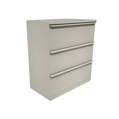 Marvel Office Furniture Zapf Three Drawer Lateral File