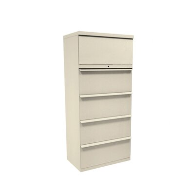 Marvel Office Furniture Zapf Five Drawer Lateral File