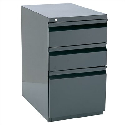 Storlie 3-Drawer Box/File Filing Cabinet