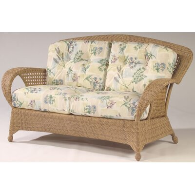Whitecraft Boca Wicker Loveseat with Cushions