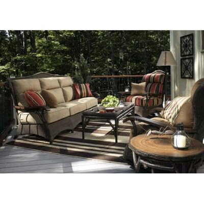 Whitecraft Chatham Run Deep Seating Group with Cushions