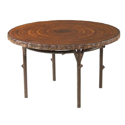 Chatham Run Heartwood Round Dining Table with Faux Top