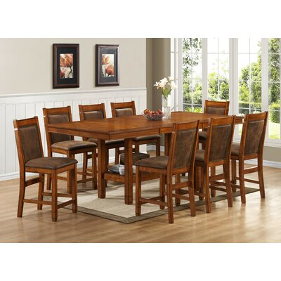 Legends Furniture Huntsman Lodge 9 Piece Dining Set