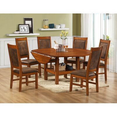 Legends Furniture Huntsman Lodge 7 Piece Dining Set