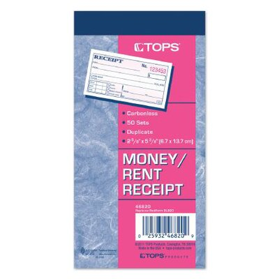 2 Part Carbonless Money Receipt Book (Set of 200)
