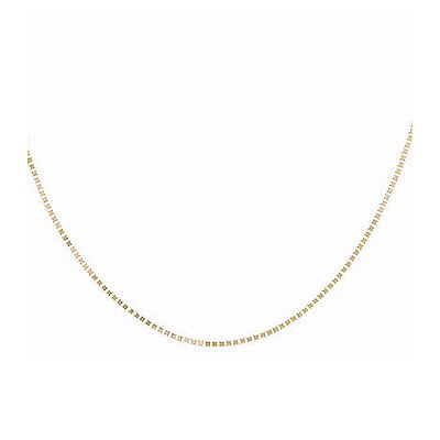 Sterling Essentials 14k White Gold 18 inches Box Chain