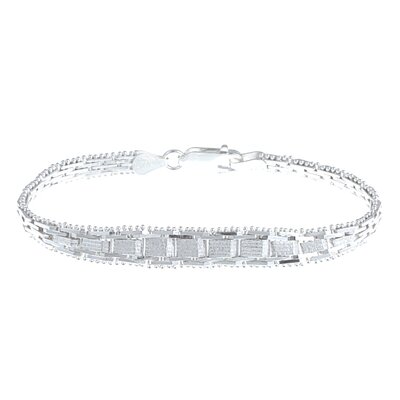 Sterling Silver 7 inches Riccio Bracelet