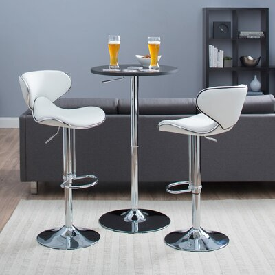 Castleton Home Oxbow Estate Airlift Adjustable Barstool