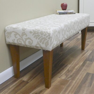 Carolina Cottage Romance Upholstered Entryway Bench