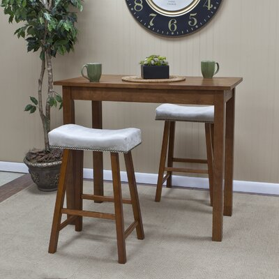 Carolina Cottage Valencia Café Counter Height Pub Table with Optional Stools