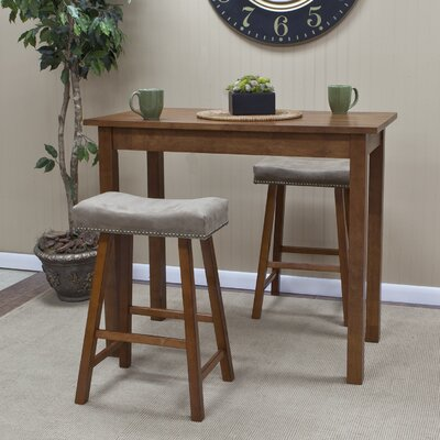 Carolina Cottage Café Bar Table with Valencia Stools