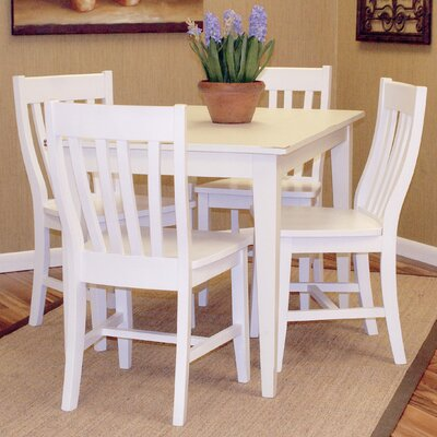 Carolina Cottage Prairie 5 Piece Dining Set