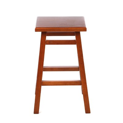 Carolina Cottage O'Malley Pub Counter Stool in Walnut