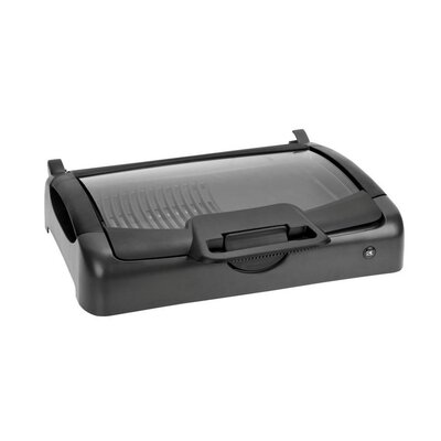 Indoor / Outdoor Carry Grill with Glass Lid