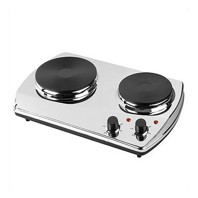 Kalorik 1400 Watt Double Cooking Plate