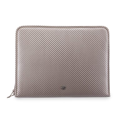 Netbook Sleeve Diamond Pillow in Tan