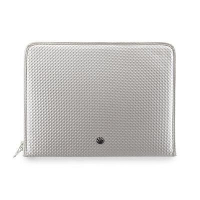 Netbook Sleeve Diamond Pillow in White