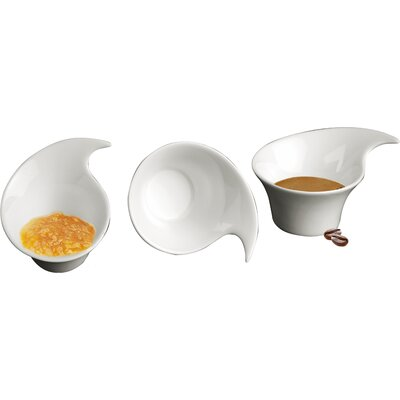 DeaGourmet Onda Gravy Boat (Set of 3)