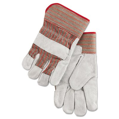 Economy Grade Leather Gloves