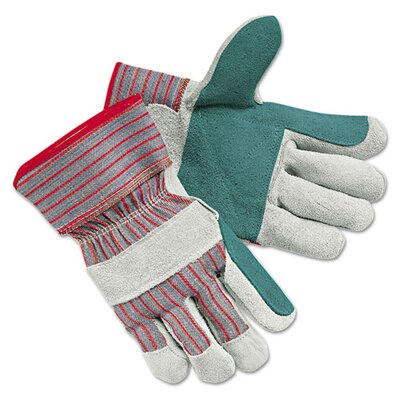 Mens Economy Leather Palm Gloves