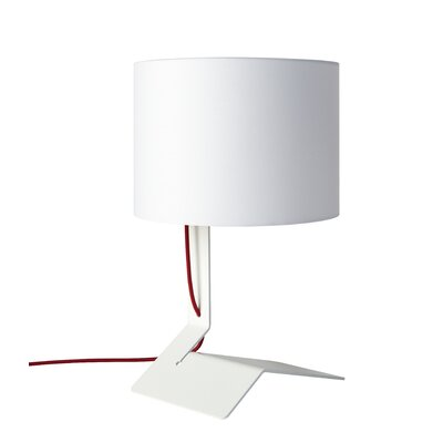 """Blu Dot Bender 19"""" H Table Lamp with Drum Shade"""