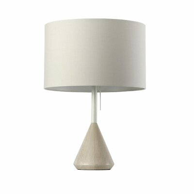 """Blu Dot Flask 24.6"""" H Table Lamp with Drum Shade"""