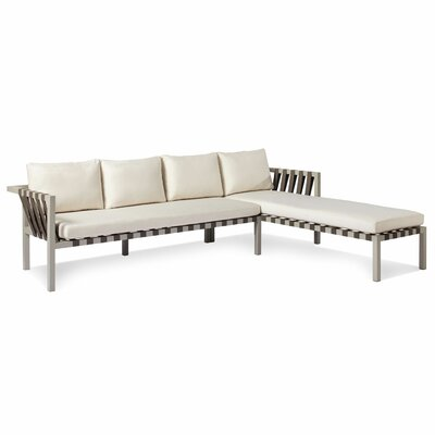 Blu Dot Jibe Outdoor Right Sectional with Cushions