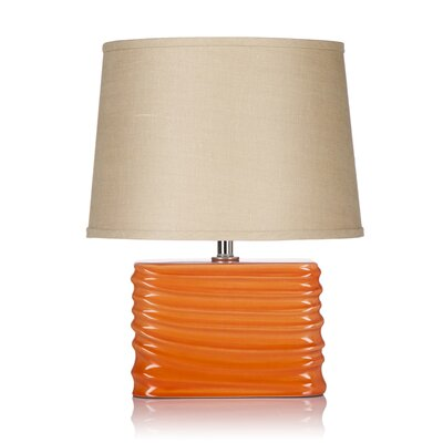 """Krush Spin Blush 20"""" H Table Lamp with Empire Shade"""
