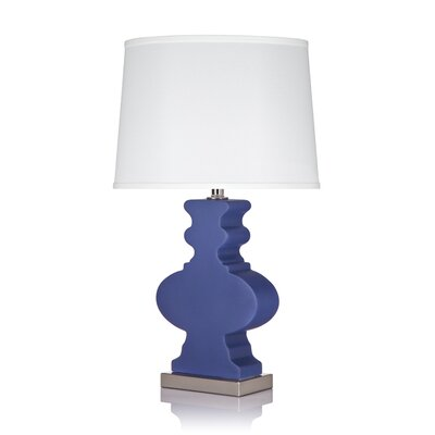 "Krush Ami Ami  25.5"" H Table Lamp with Empire Shade"