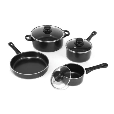 Carbon Steel 7-Piece Cookware Set