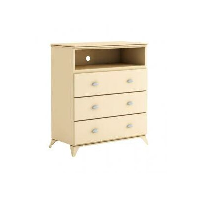 College Woodwork Fraser 3 Drawer Media Chest
