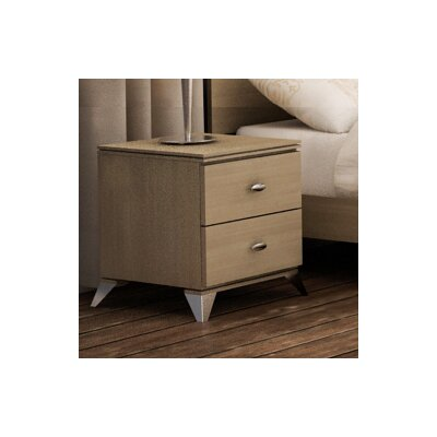 College Woodwork Fraser 2 Drawer Nightstand