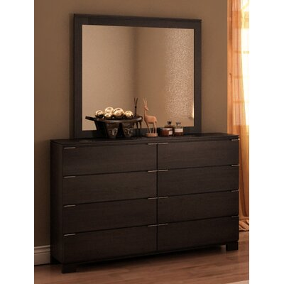 College Woodwork Grandview 8 Drawer Dresser