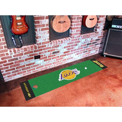FANMATS NBA Novelty Putting Mat