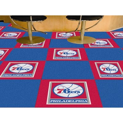 "FANMATS NBA Team 18"" x 18"" Carpet Tile"