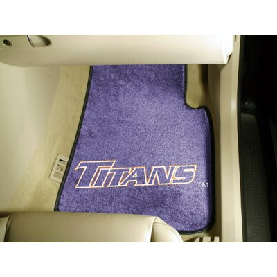 FANMATS NCAA 2 Piece Novelty Car Mats