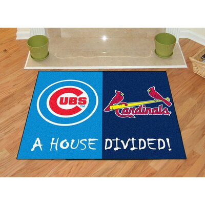MLB House Divided Novelty Rug