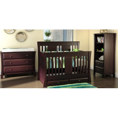 Kidz Decoeur Kenora 3-in-1 Convertible Crib Set