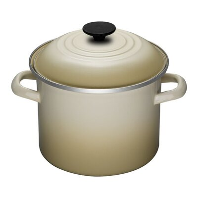 Le Creuset Enamel On Steel Stock Pot with Lid