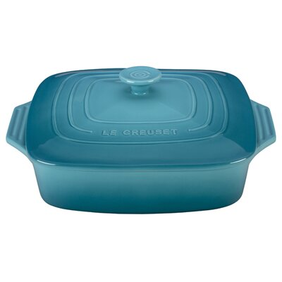 2 3/4-Qt. Covered Stoneware Square Casserole