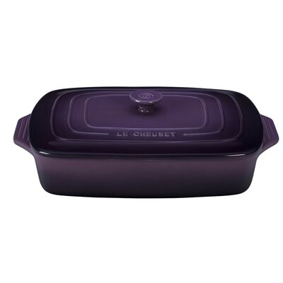 Stoneware 3.5-Qt. Covered Rectangular Casserole