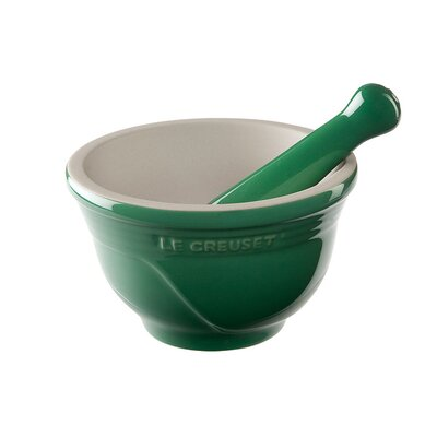Le Creuset Mortar and Pestle Set in Fennel