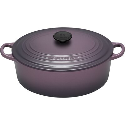 Enameled Cast Iron 3 1/2-Qt. Oval Dutch Oven