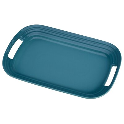 "Le Creuset 12"" Rectangular Serving Platter"
