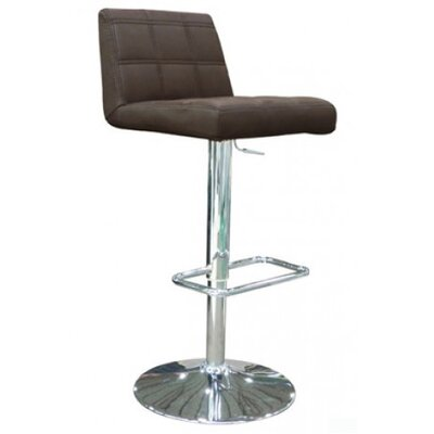 Karen Adjustable Bar Stool with Cushion