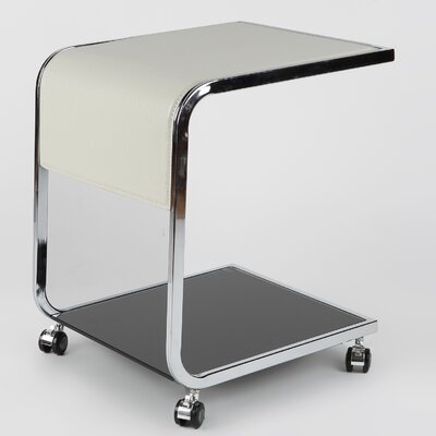 Whiteline Imports Jay Side Table