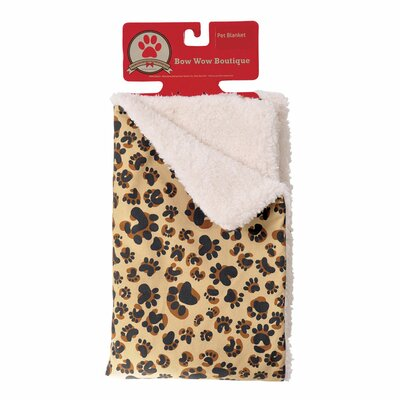 Scent-Sation Bow Wow Boutique Dog Blanket