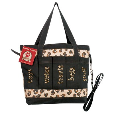 Bow Wow Boutique Dog Walking Tote Bag