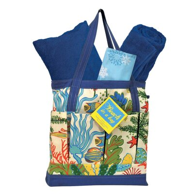 Beach in a Bag Splish Splash Tote Bag