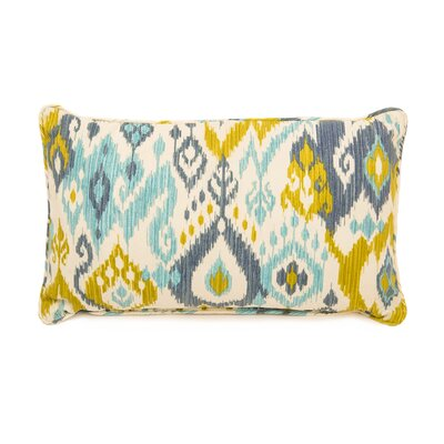 Boca Grande Polyester Lumbar Indoor/Outdoor Pillow